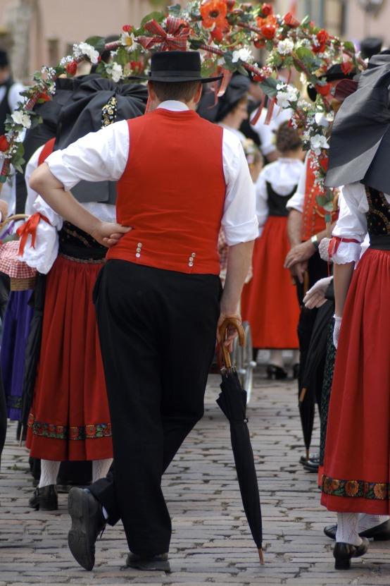 Frankreich, Elsass, G Eguisheim: Fest der Winzer, Bildquelle: Haute-Alsace Tourisme © Christophe Dumoulin